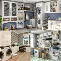 Как обустроить прачечную в домашних условиях?